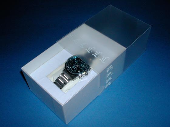 女性向け腕時計用化粧箱